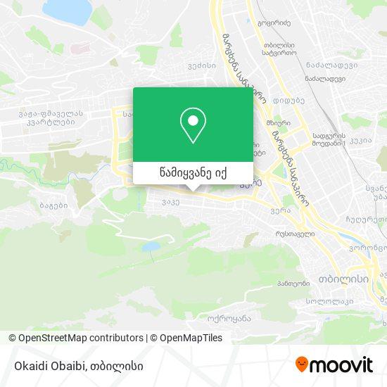 Okaidi Obaibi რუკა
