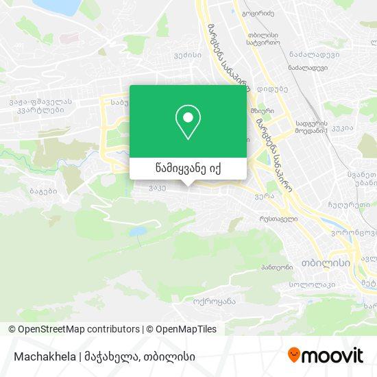 Machakhela | მაჭახელა რუკა