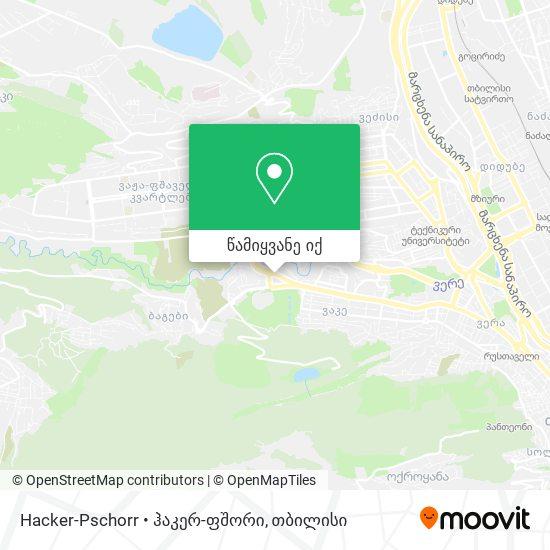 Hacker-Pschorr • ჰაკერ-ფშორი რუკა
