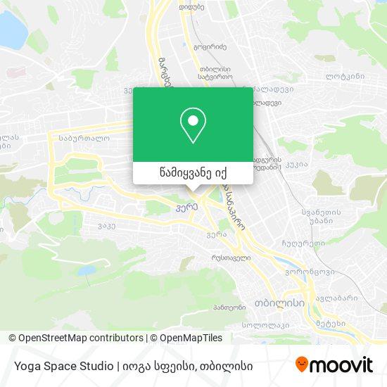 Yoga Space Studio   იოგა სფეისი რუკა