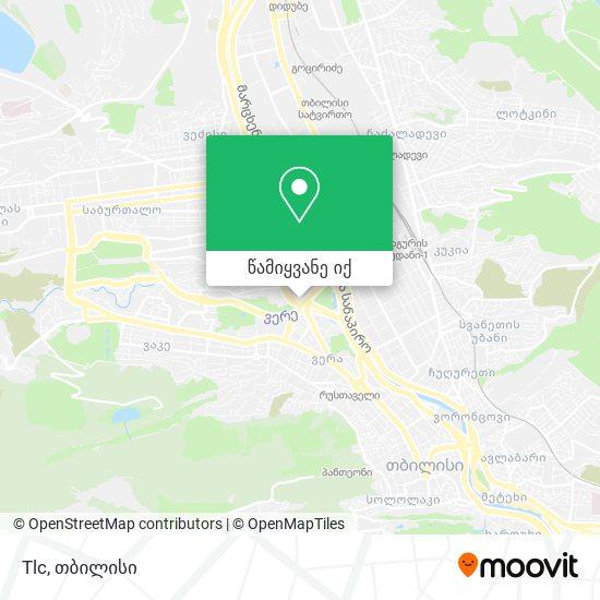 Tlc რუკა