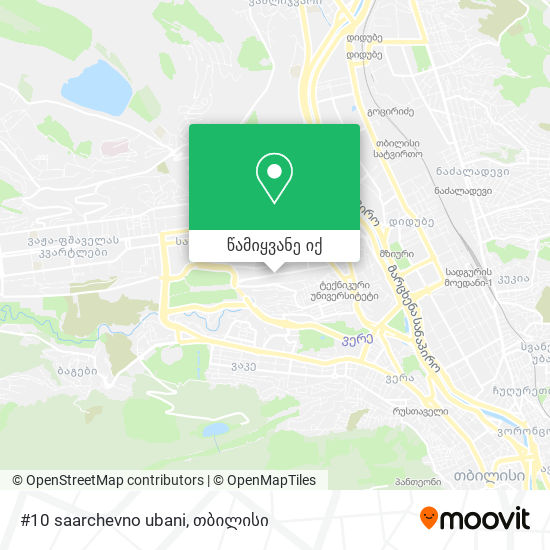 #10 saarchevno ubani რუკა