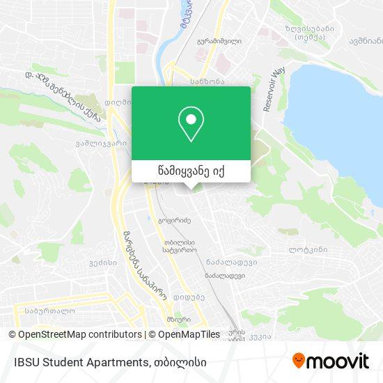 IBSU Student Apartments რუკა