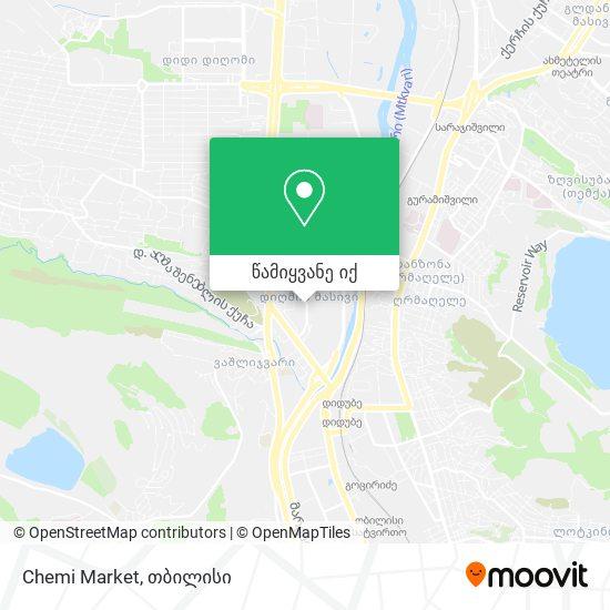 Chemi Market რუკა