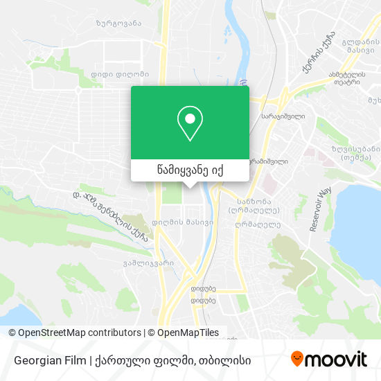 Georgian Film | ქართული ფილმი რუკა