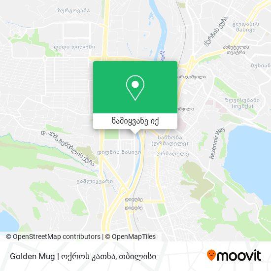 Golden Mug | ოქროს კათხა რუკა