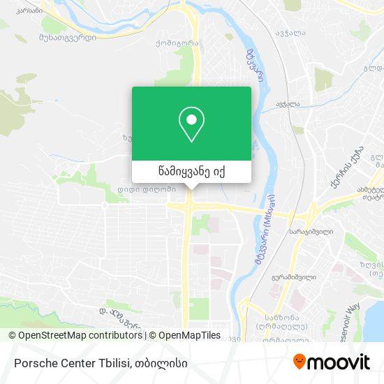 Porsche Center Tbilisi რუკა