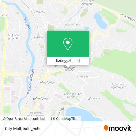 City Mall რუკა
