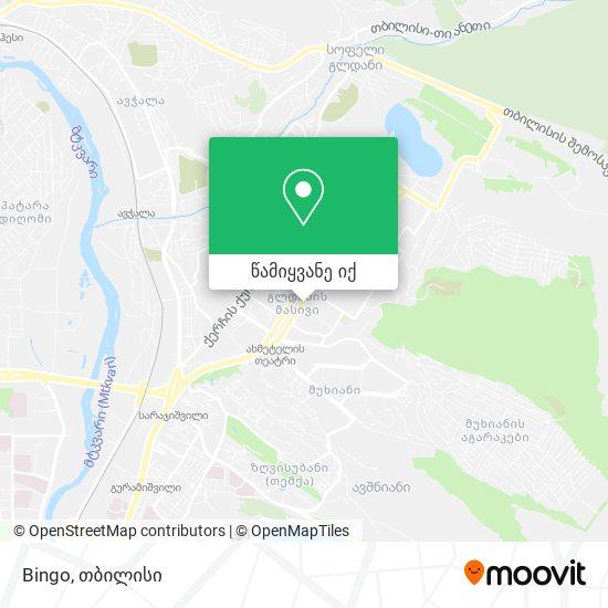 Bingo რუკა