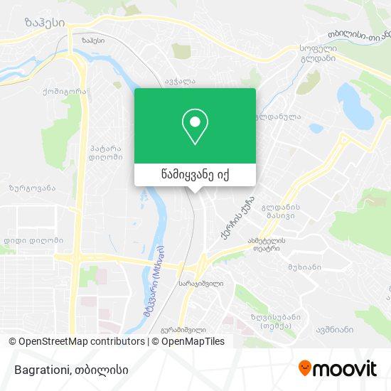 Bagrationi რუკა