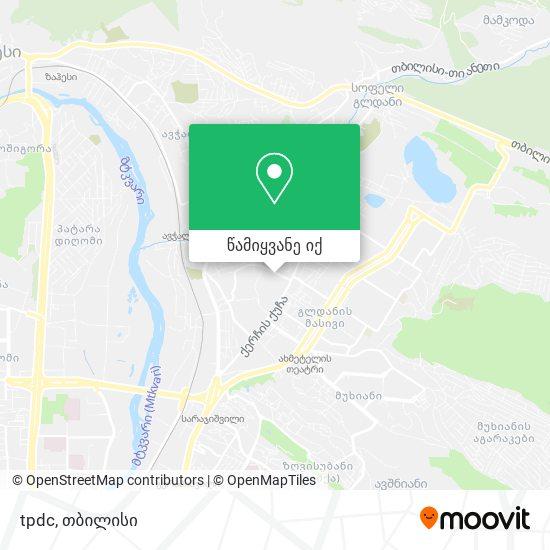 tpdc რუკა