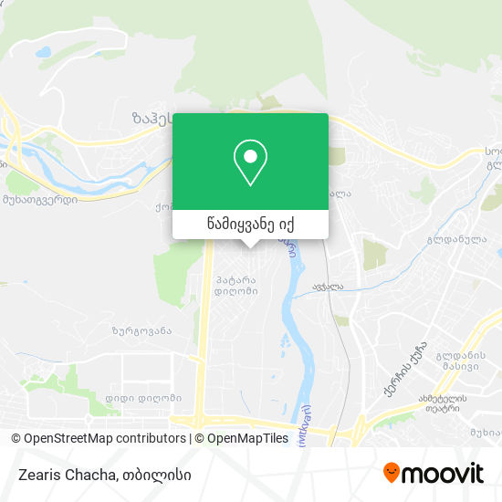 Zearis Chacha რუკა