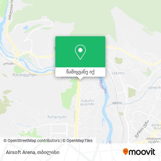 Airsoft Arena რუკა