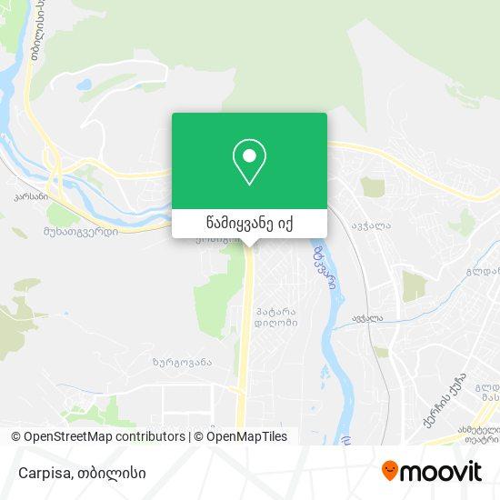 Carpisa რუკა