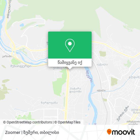 Zoomer   ზუმერი რუკა