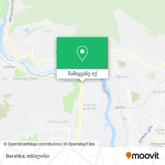 Bershka რუკა