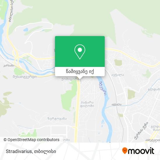 Stradivarius რუკა