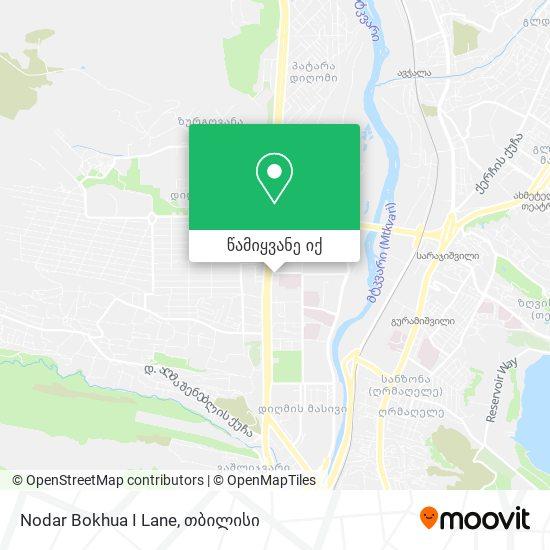 Nodar Bokhua I Lane რუკა