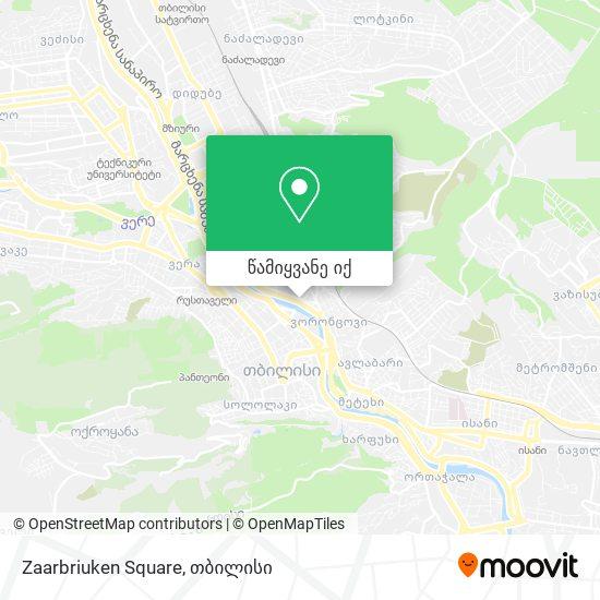 Zaarbriuken Square რუკა