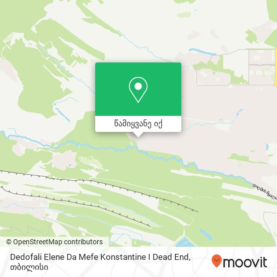 Dedofali Elene Da Mefe Konstantine I Dead End რუკა