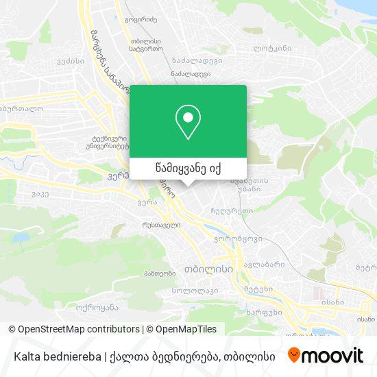 Kalta bedniereba | ქალთა ბედნიერება რუკა