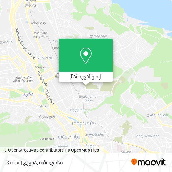 Kukia   კუკია რუკა