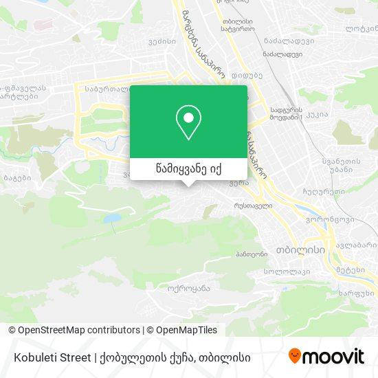 Kobuleti Street | ქობულეთის ქუჩა რუკა