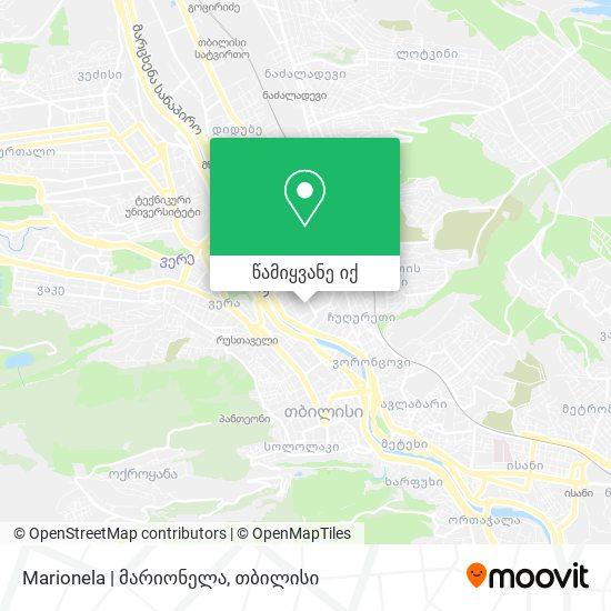 Marionela   მარიონელა რუკა