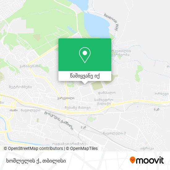 ხომლელის ქ. რუკა
