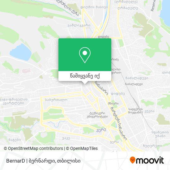 BernarD   ბერნარდი რუკა