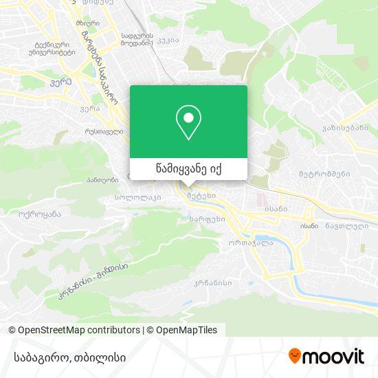 საბაგირო რუკა