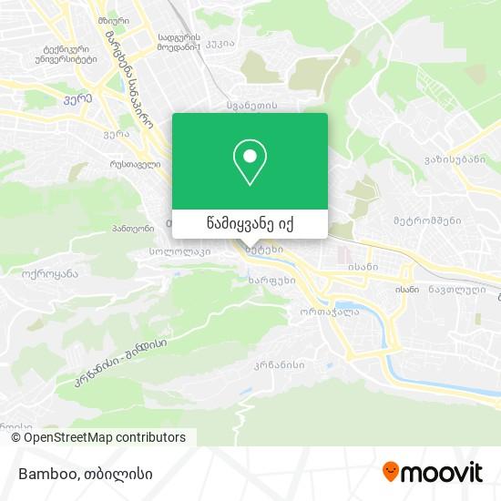 Bamboo რუკა