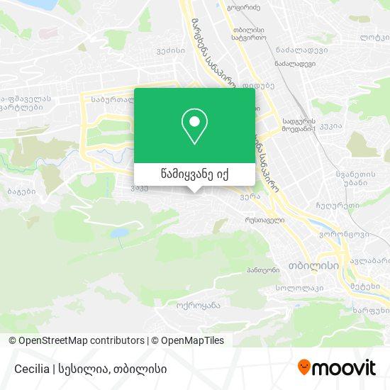Cecilia | სესილია რუკა