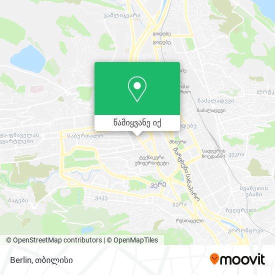 Berlin რუკა