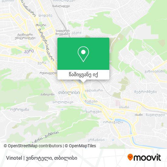 Vinotel | ვინოტელი რუკა