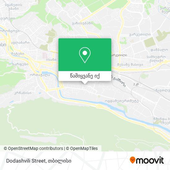 Dodashvili Street რუკა