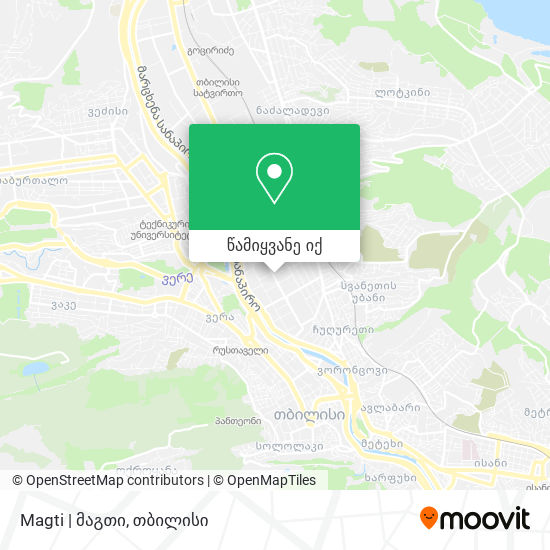 Magti | მაგთი რუკა