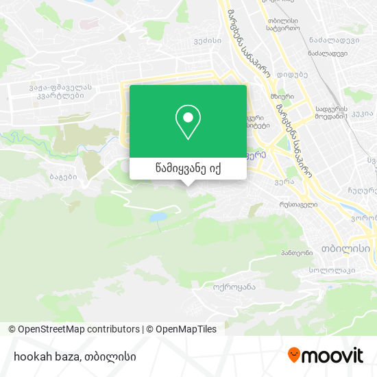 hookah baza რუკა