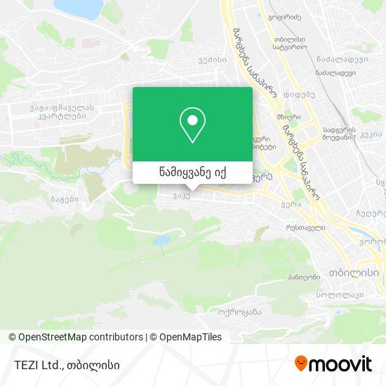 TEZI Ltd. რუკა