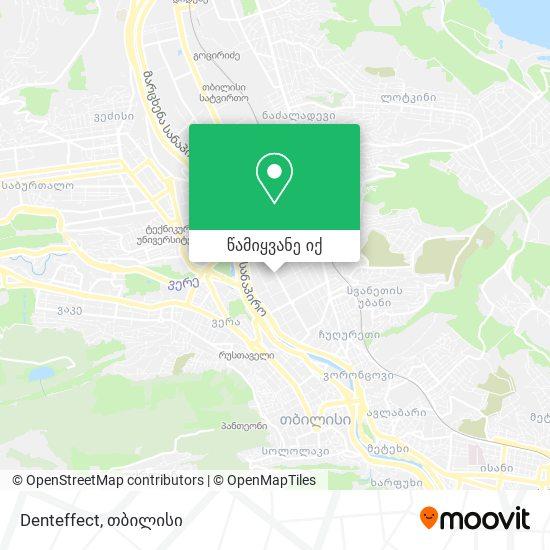 Denteffect რუკა