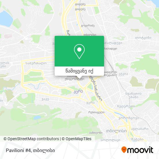 Pavilioni #4 რუკა