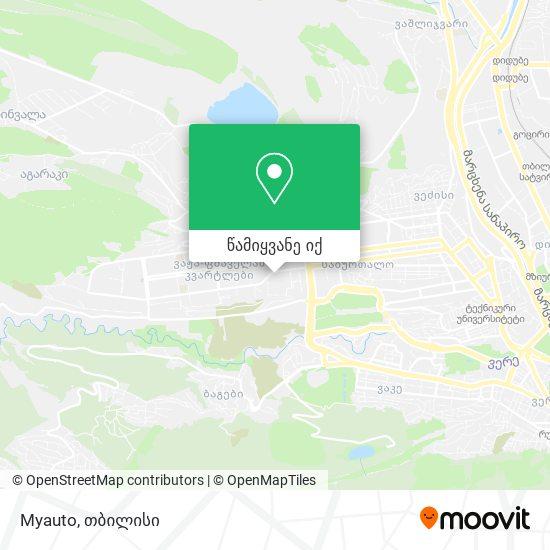 Myauto რუკა