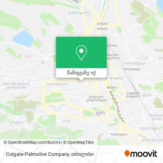 Colgate-Palmolive Company რუკა