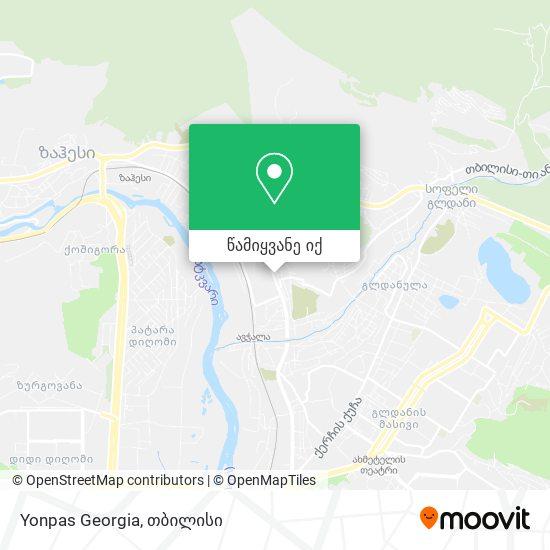 Yonpas Georgia რუკა
