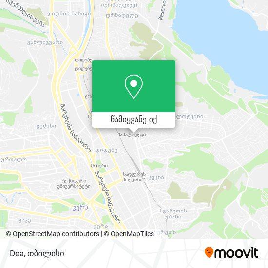 Dea რუკა
