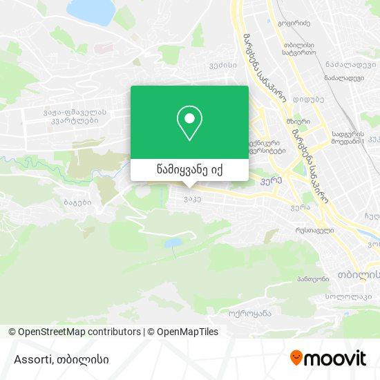 Assorti რუკა