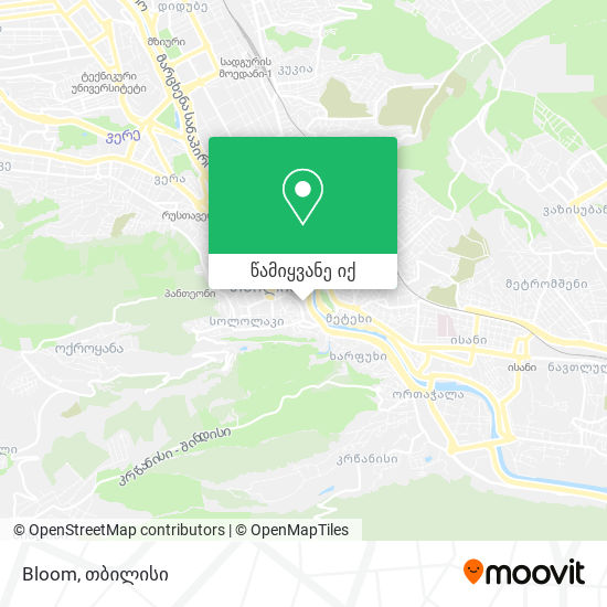 Bloom რუკა