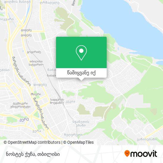 ნოსტეს ქუჩა რუკა