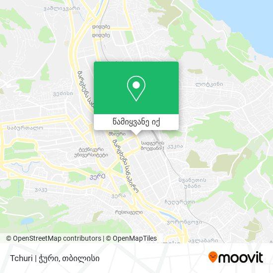 Tchuri   ჭური რუკა