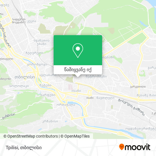 Tpilisi რუკა